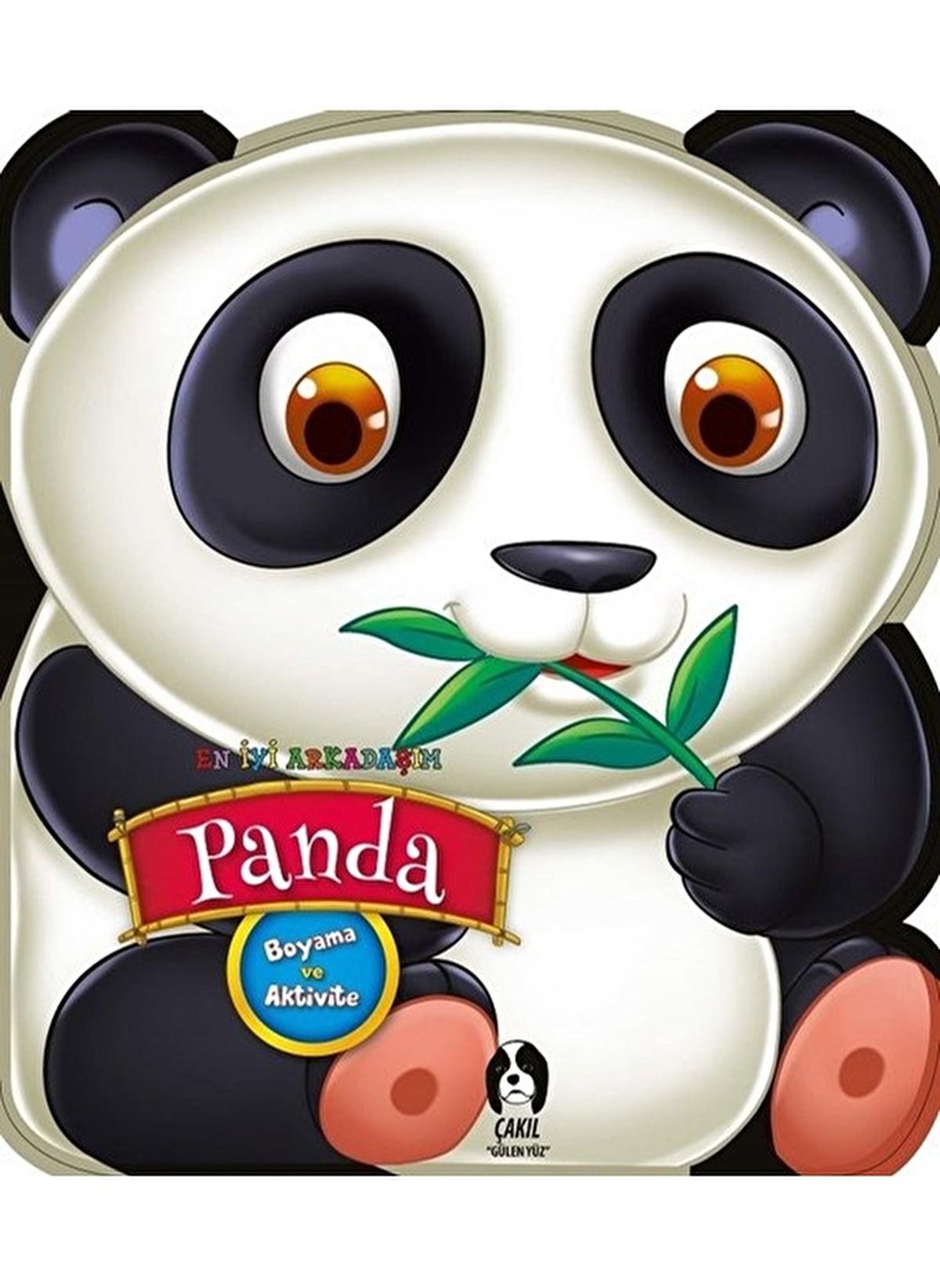 Morhipo Kitap Unisex Cocuk En Iyi Arkadasim Panda Boyama Ve